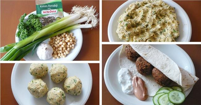 Skrblíkova kuchařka: Recept na falafel