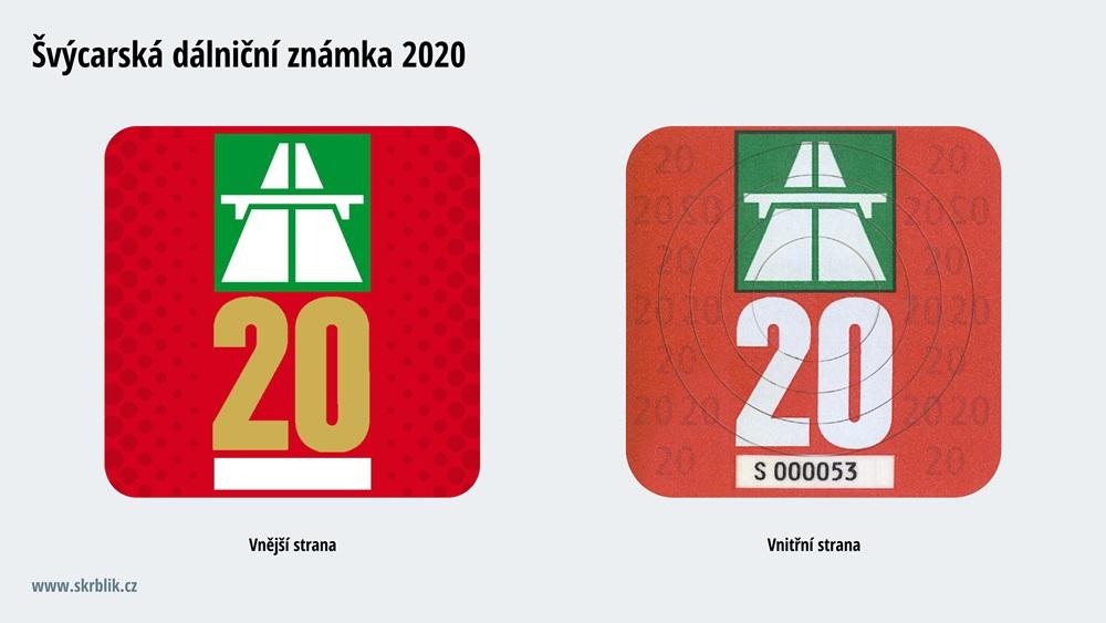 Dálniční známky Švýcarsko 2018
