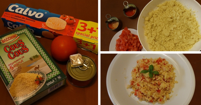 Skrblíkova kuchařka: Recept na kuskus s tuňákem a rajčaty