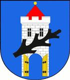 Znak města Štětí