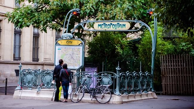 Metro v Paříži | © Pixabay.com