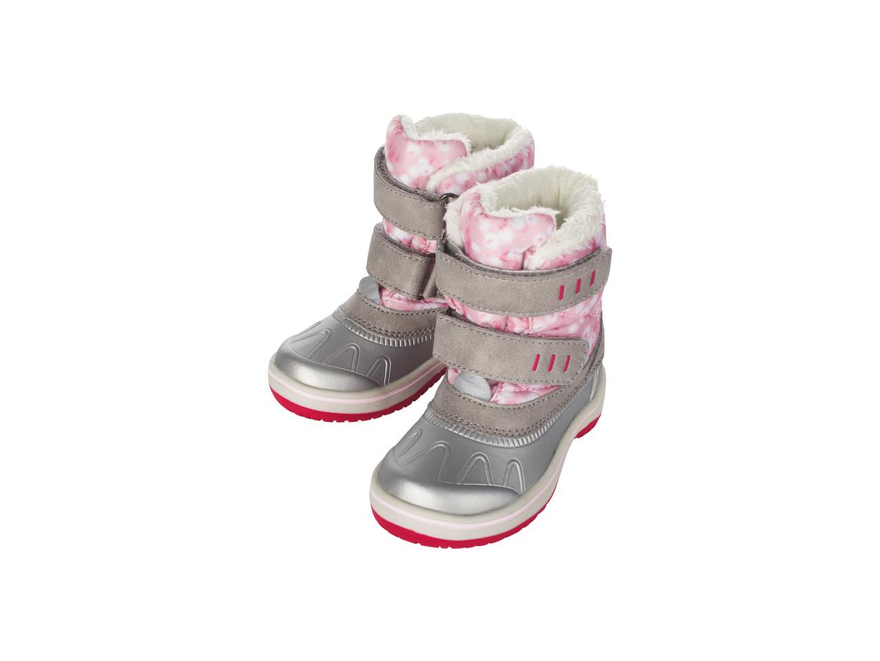 Zimní obuv Lupilu z Lidlu  e367c4a597